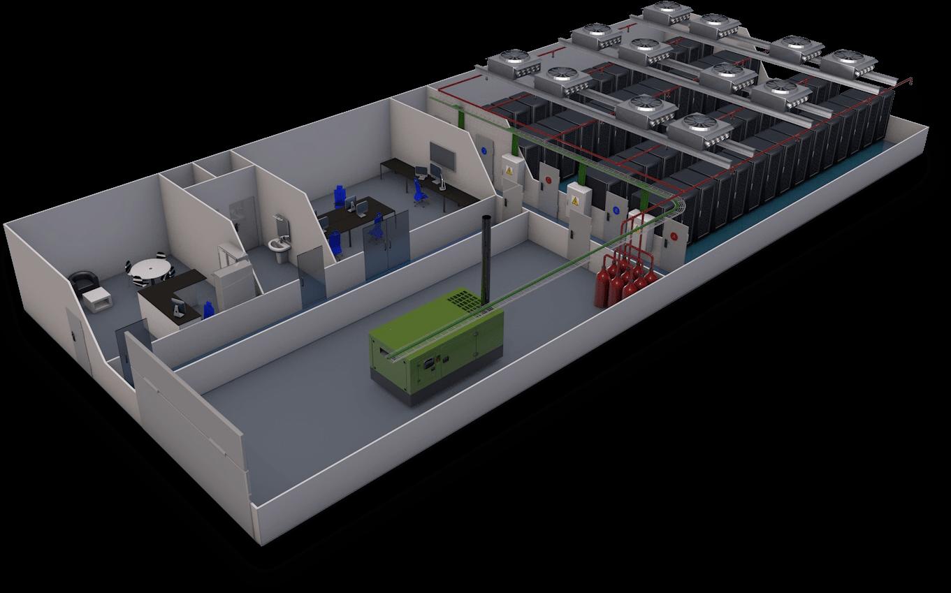 Centro de datos de SYS4NET